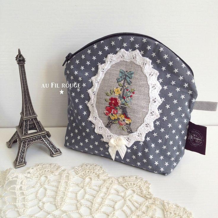 Minuit à Paris des Brodeuses Parisiennes version par aufilrouge