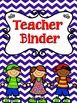 Teacher Binder Teacher Binder: This chevron theme teacher binder will help you stay organized throughout the school year. This teacher binder includes an editable version that will allow you to personalize the documents to meet your needs throughout the year. I have also included a PDF version of this teacher binder that uses adorable fonts and graphics. This Teacher Binder Includes: Student List Student Information Sheets Boy/Girl List Student Information Cards Student Numbers Student…