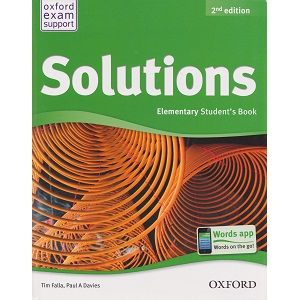 Solutions Elementary Student's Book 2nd