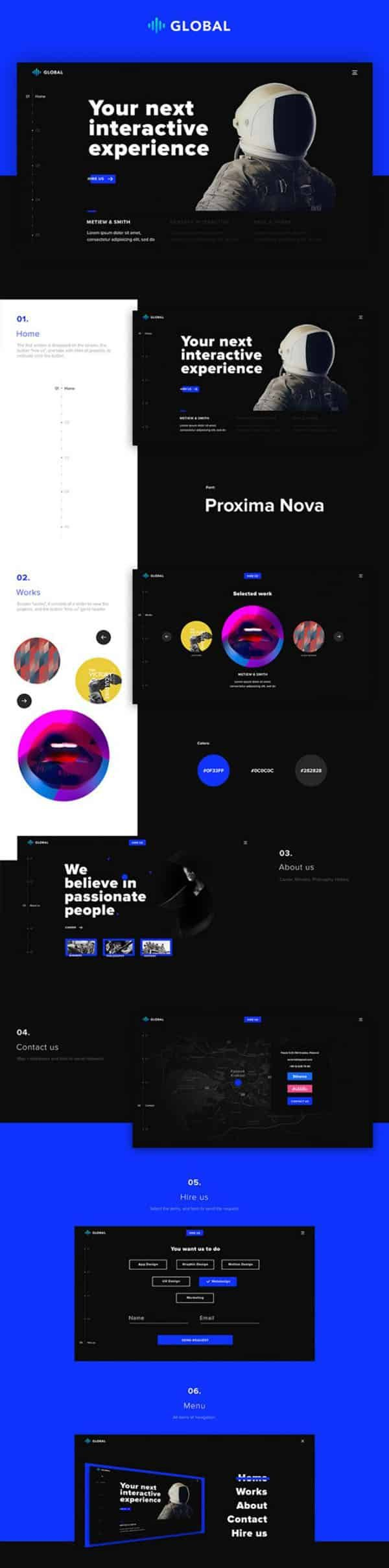 Download a selection of the best Photoshop website templates for your next web design project. These are layered Photoshop files to start your new project.