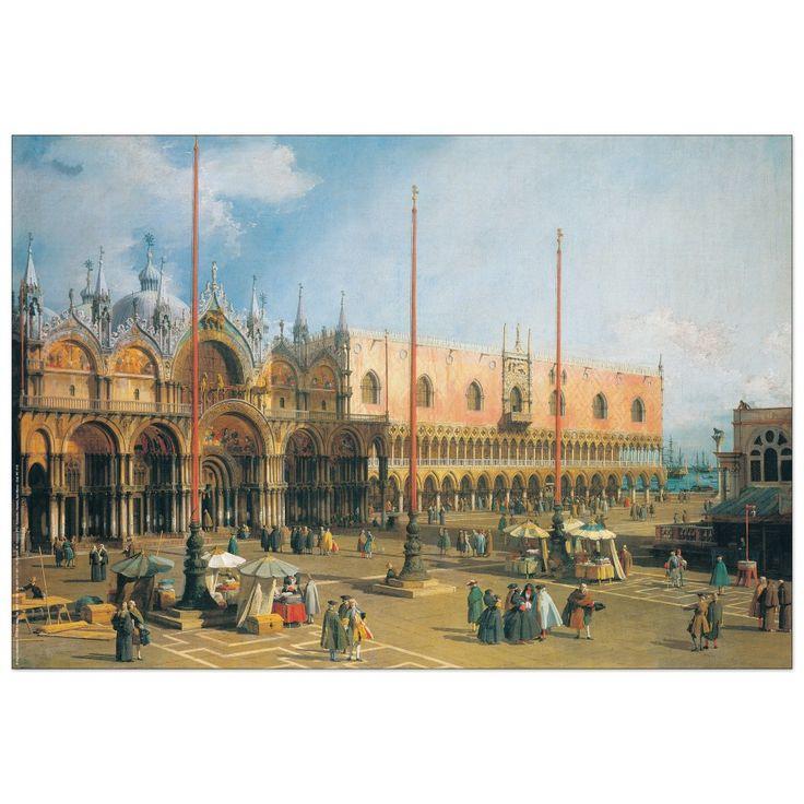 CANALETTO - Venezia, San Marco 80x55 cm #artprints #interior #design #art #prints   Scopri Descrizione e Prezzo http://www.artopweb.com/EC21781