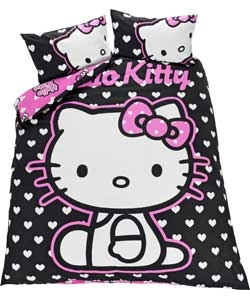 Hello Kitty Panel Duvet Cover Set - Double.