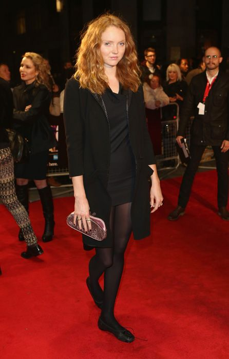 Lily Cole at the London Film Festival premiere of The Zero Theorem
