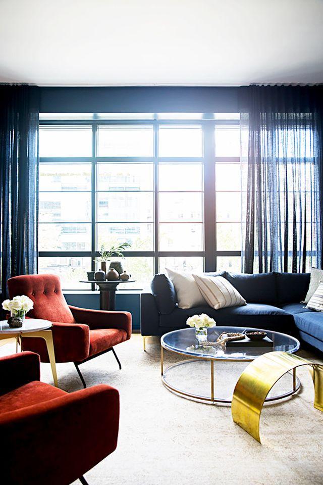 Rental apartment decorating ideas — curtains