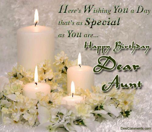Happy Birthday Dear Aunt