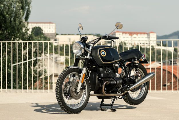 HEAD TURNER: A BMW R65 INSPIRED BY THE ALPINA 2002TI