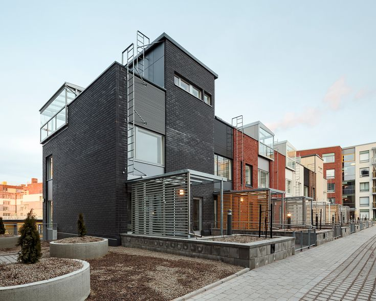 Built by PORTAALI architects Ltd,ArkOpen Ltd in Helsinki, Finland with date 2014. Images by Photos Tuomas Uusheimo. Kalasatama is a new residential and business district build on a former harbor area adjacent to Helsinki inner city. ...