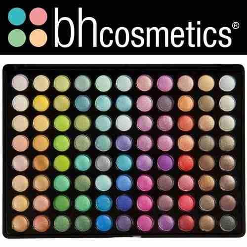 paleta de 88 sombras cool shimmer marca bh cosmetics