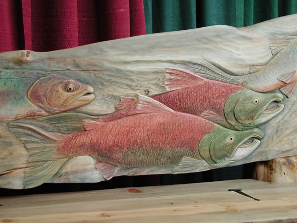 Images about carved fish on pinterest wood