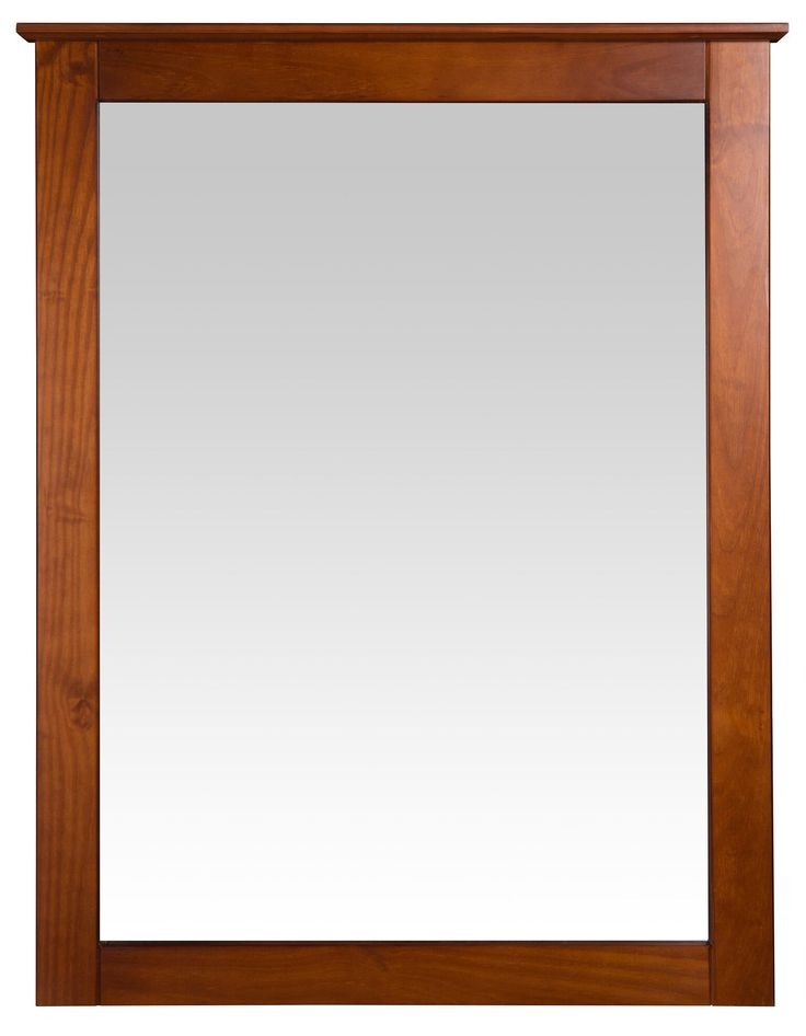 Camaflexi Shaker Style Mirror for 6 Drawer Dresser - Cherry Finish - SHK295
