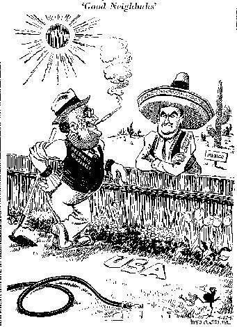 the good neighbor policy Taking on the apush exam in may get a head start on your foreign policy knowledge with our ap us history crash course on fdr's good neighbor policy.