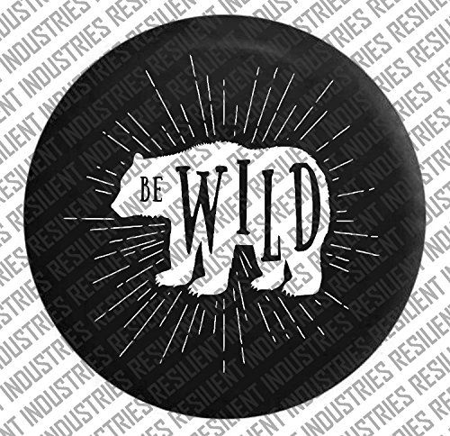 JEEP SPARE TIRE cover Bear Wild Adventure Badge Jeep Wran... http://a.co/9RTiDzO