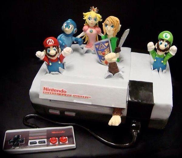 The Ultimate Nintendo Cake