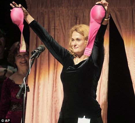 Ig Nobel awards: A bra that converts into a gas mask
