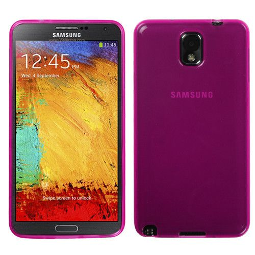 TRANSPARENT CANDY SKIN CASE FOR SAMSUNG GALAXY NOTE 3 - HOT PINK $4.95 www.myphonecase.com #samsungalaxynote3, #galaxynote3, #galaxycase, #galaxynote3case, #galaxynote3cover, #note3cover, #note3case
