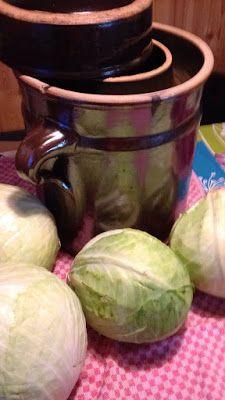 SonnjasWeltistbunt: Sauerkraut selber machen!!