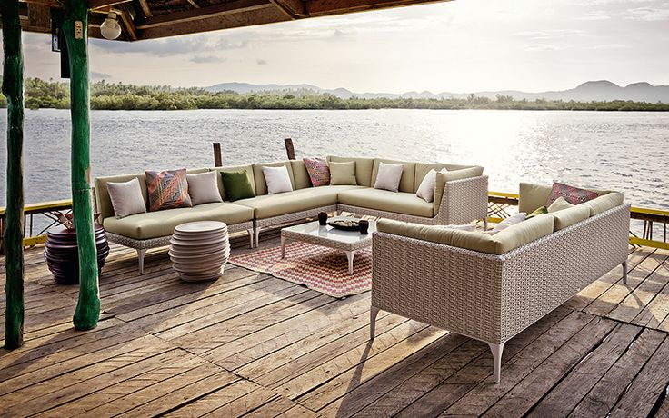 133 best images about dedon furniture on pinterest for Dedon outdoor furniture