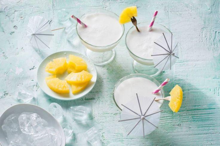 Waan je in de Caribbean met dit tropische drankje - Recept - Allerhande