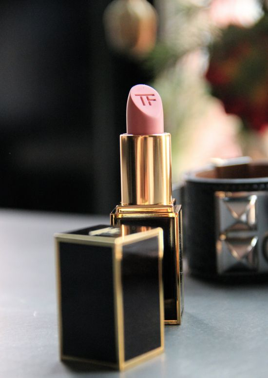 Tom Ford Lipstick is luscious and this rosy beige tinted looks divine on almost everyone - sallow (yellow) not so much
