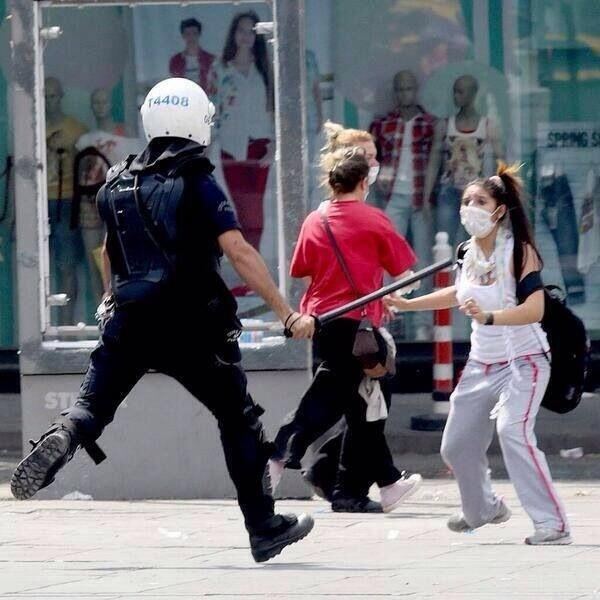 from Istanbul-Taksim Gezi Parkı protest