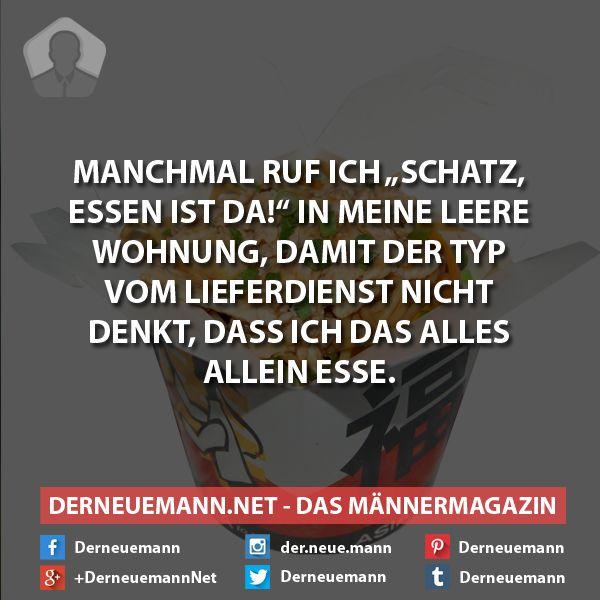 Lieferdienst #derneuemann #humor #lustig #spaß #sprüche #essen