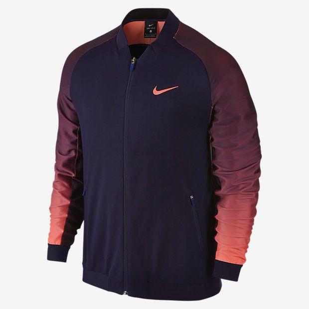 NikeCourt Premier Men's Tennis Jacket, Nike, Tennis Fashion Men, trendy Tennis Outfits for him, Tennismode, sportliche Mode fürs Tennisspielen.