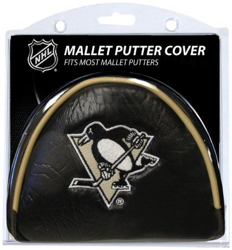NHL Pittsburgh Penguins Mallet Puttercovers by Team Golf. $16.95. This cover fits most mallet putters and includes 2 location embroidery, Velcro closure and fleece lining for extra club protection. Made of buffalo vinyl and synthetic suede like material.