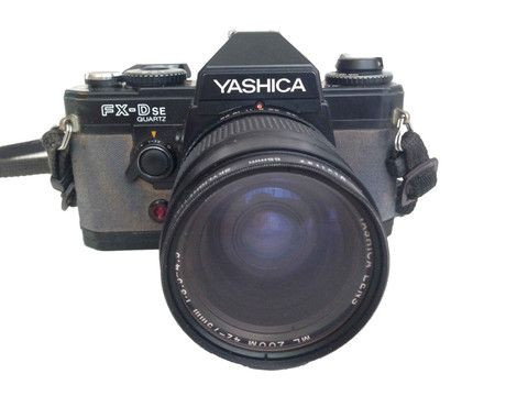 Yashica FX-D SE With Protective Case – Junkie Charity Store