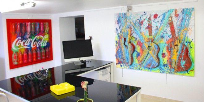 Oltre 25 fantastiche idee su arredamento moderno su - Quadri arredamento casa ...