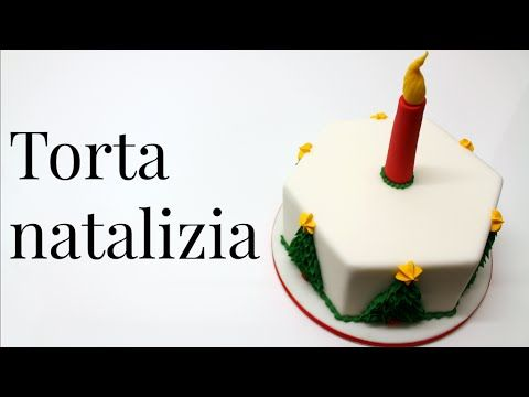 Tutorial torta decorata natalizia by ItalianCakes - YouTube