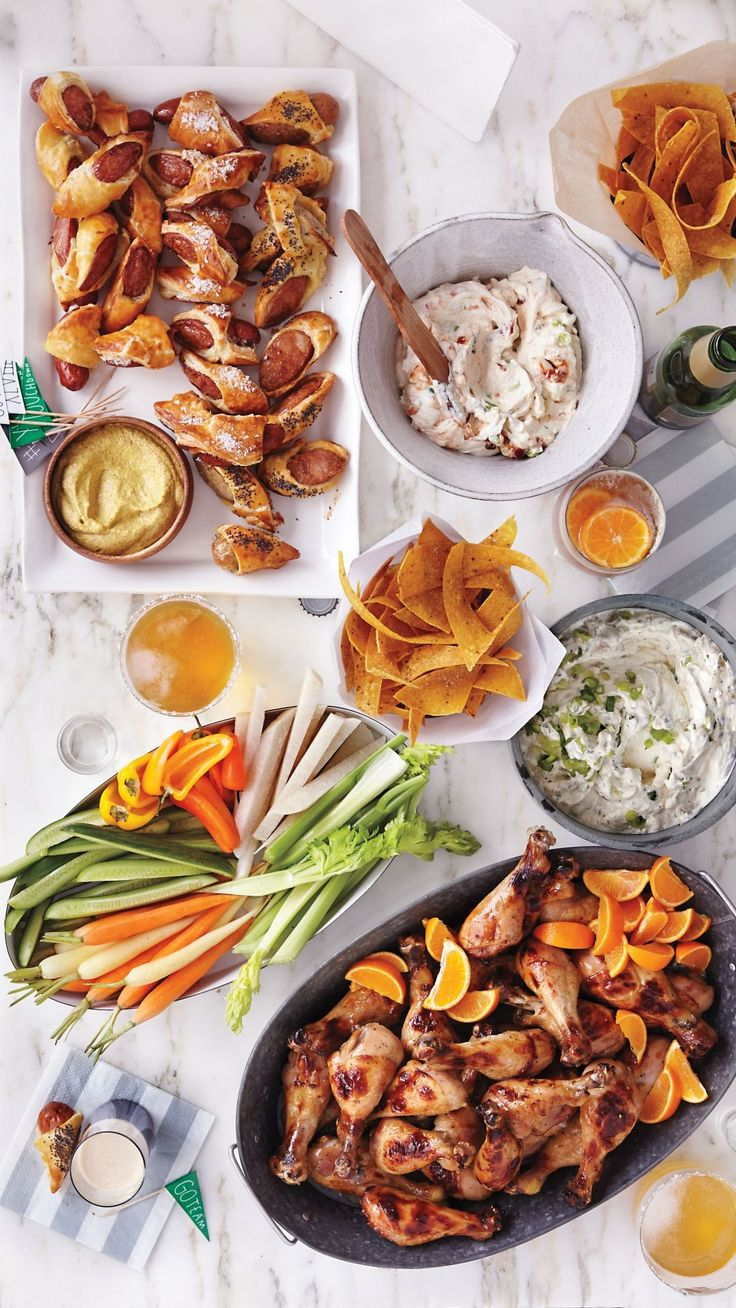 Super Bowl Menu | Martha Stewart