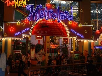 Metroland - an indoor theme park & arcade in Europe's largest shopping centre. You are welcome world.