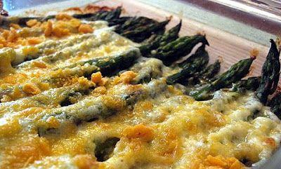 Asparagus Gratin - Kalofagas - Greek Food & Beyond