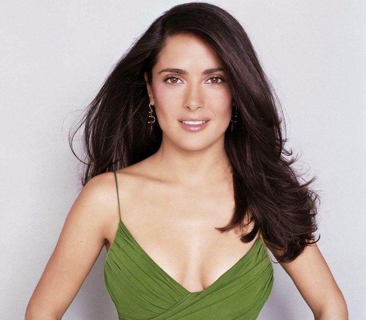 Salma Hayek Posing Green Shirt 8x10 Picture Celebrity Print   eBay