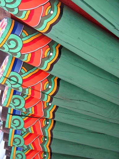 Detail view of Korean Traditional Roof. #PhotojournalismKorea