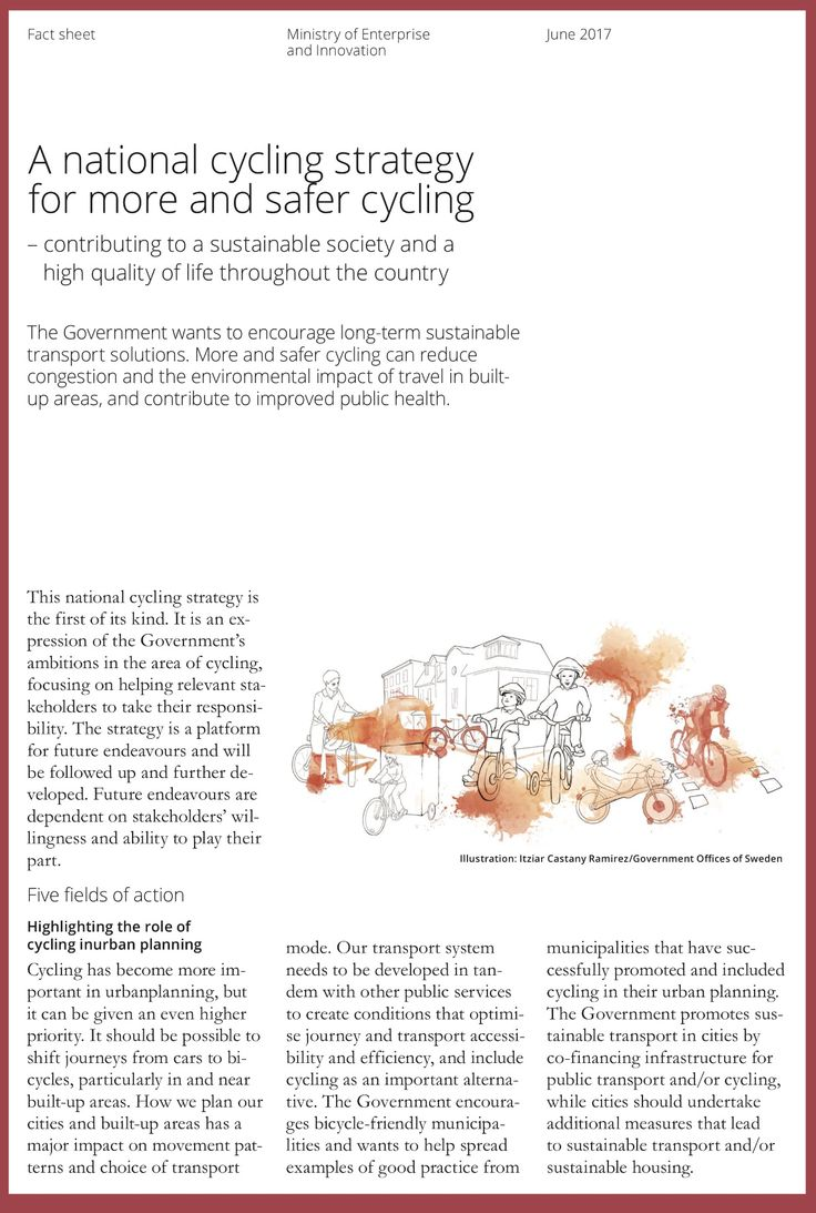 Of course sweden has national cyclist strategy swedenrules gogreen http