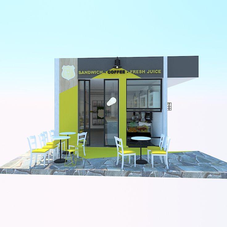 #olonconstruction cafe bar on an island