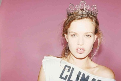 Georgia May Jagger models Vivienne Westwood's new Palladium jewellery campaign, photographed by Juergen Teller
