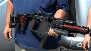 The Red Jakect Kriss Vector, so sick