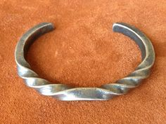 Hand forged Viking Oath Ring Bracelet