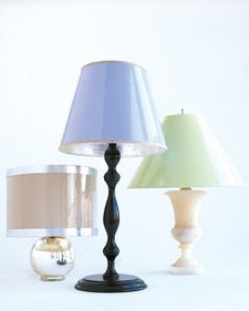 Painted Lampshades | Step-by-Step | DIY Craft How To's and Instructions| Martha Stewart