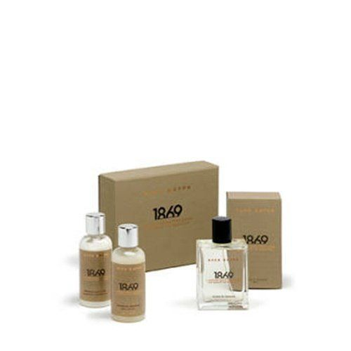Acca Kappa 1869 Travel Gift Set by Acca Kappa. $89.00. characterized by the warm notes of a leather accord.. Includes travel sized eau de cologne, shampoo & shower gel, and body lotion.. Perfect for travel, ideal for gift giving.. Scented with an elegant and distinctly masculine fragrance. Perfect for travel, ideal for gift giving, Acca Kappa 1869 Travel Gift Set includes travel sized eau de cologne, shampoo & shower gel, and body lotion. Scented with an elegant and distin...