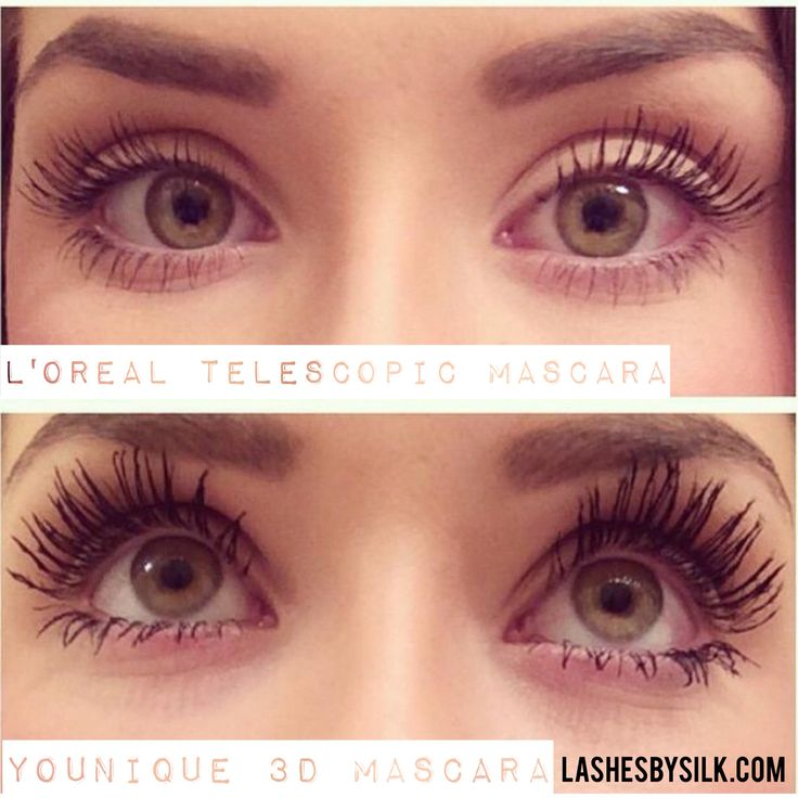 L'Oreal Telescopic vs Younique 3D - time to buy the best mascara ever if you haven't done so already.