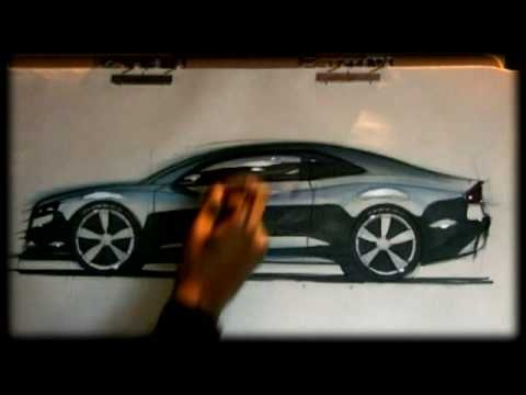 how to draw awesome cars