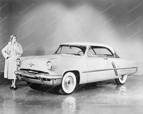 Ford Lincoln Capri 1952 Vintage Auto 8x10 Reprint Of Old Photo | eBay