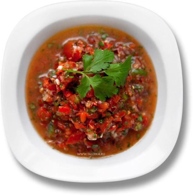 Красный соус, сальса (Salsa roja, Pico de Gallo) | Видео рецепты — Talerka.tv
