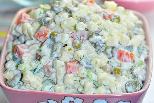 Makarna Salatası | Hayat Cafe Kolay Yemek Tarifleri