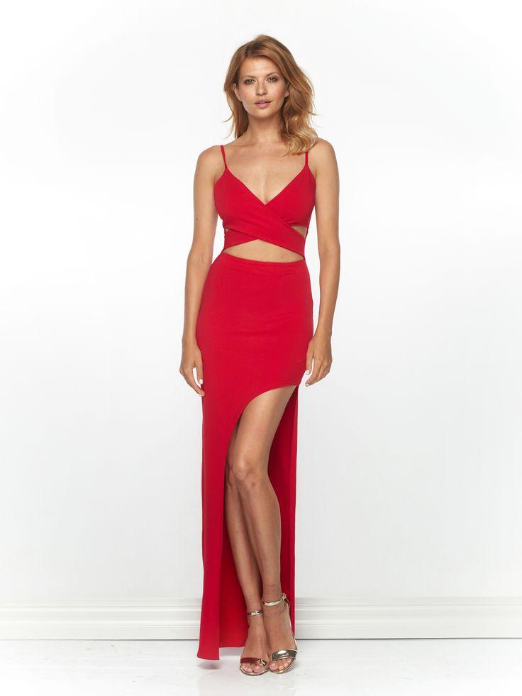 Sukienka Vibi w kolorze czerwonym