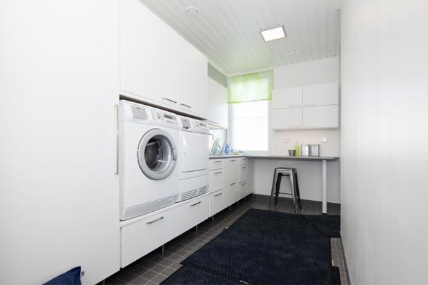 Meritähti Jetta-talo - Kodinhoitohuone | Asuntomessut