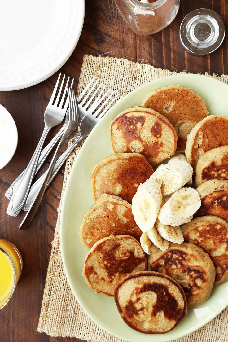 Teff banana pancakes - easily made vegan if use vegan substitute for honey